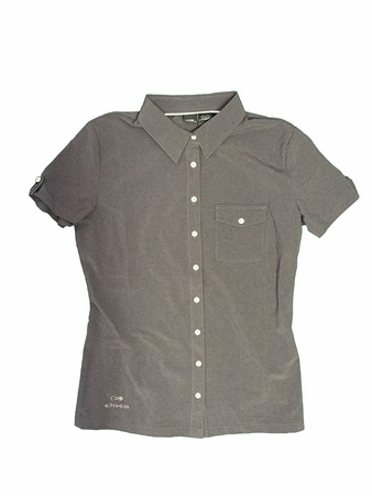 Eider Womens Sherbrooke Stretch Shirt Dark Grey
