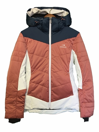 Eider Womens Shiga Jacket Dusty Pink/ Midnight Blue (Close Out)