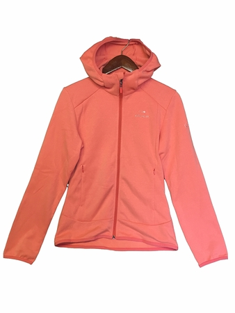 Eider Womens Smooth Hoodie Peach Coral