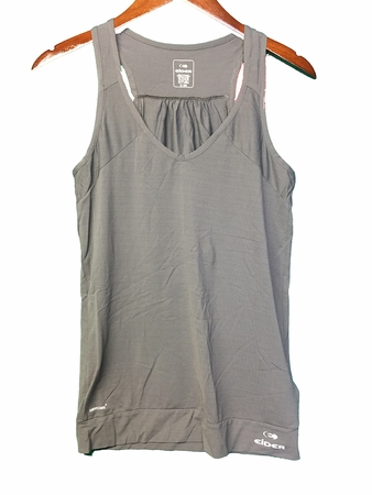 Eider Womens Sparkle Tank Dark Grey