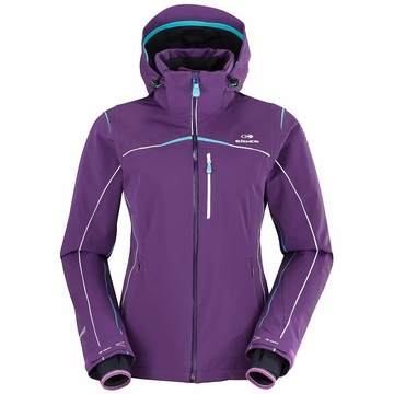 Eider Womens St Anton Jacket Purple Rain