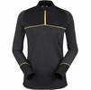 Eider Womens Tignes 1/2 Zip Black/ Ghost Heather