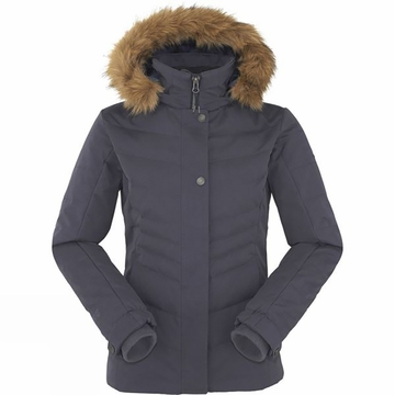 Eider Womens Veyrier Warm Jacket Night Shadow Blue