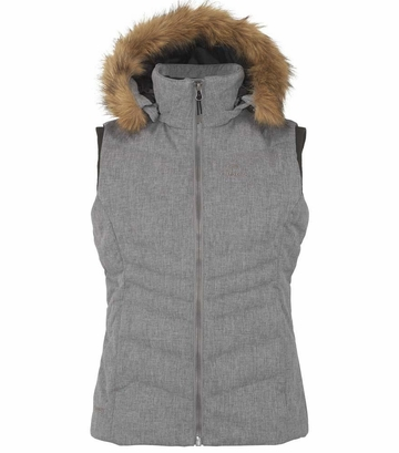Eider Womens Veyrier Warm Vest Grey