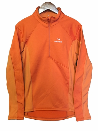 Eider Mens Wonder 1/2 Zip Fiery Canyon
