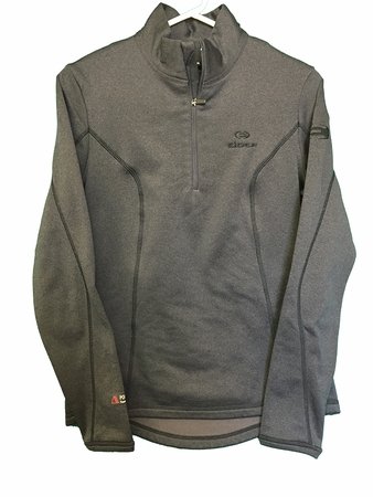 Eider Womens Wonder 1/2 Zip Graphite Cloudy