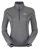 Eider Womens Wonder 1/2 Zip Grey Cloudy
