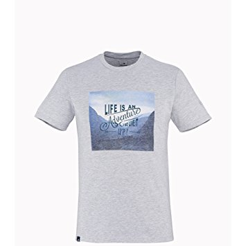 Eider Mens Yulton Tee 2.0 Pearl Grey Adventure