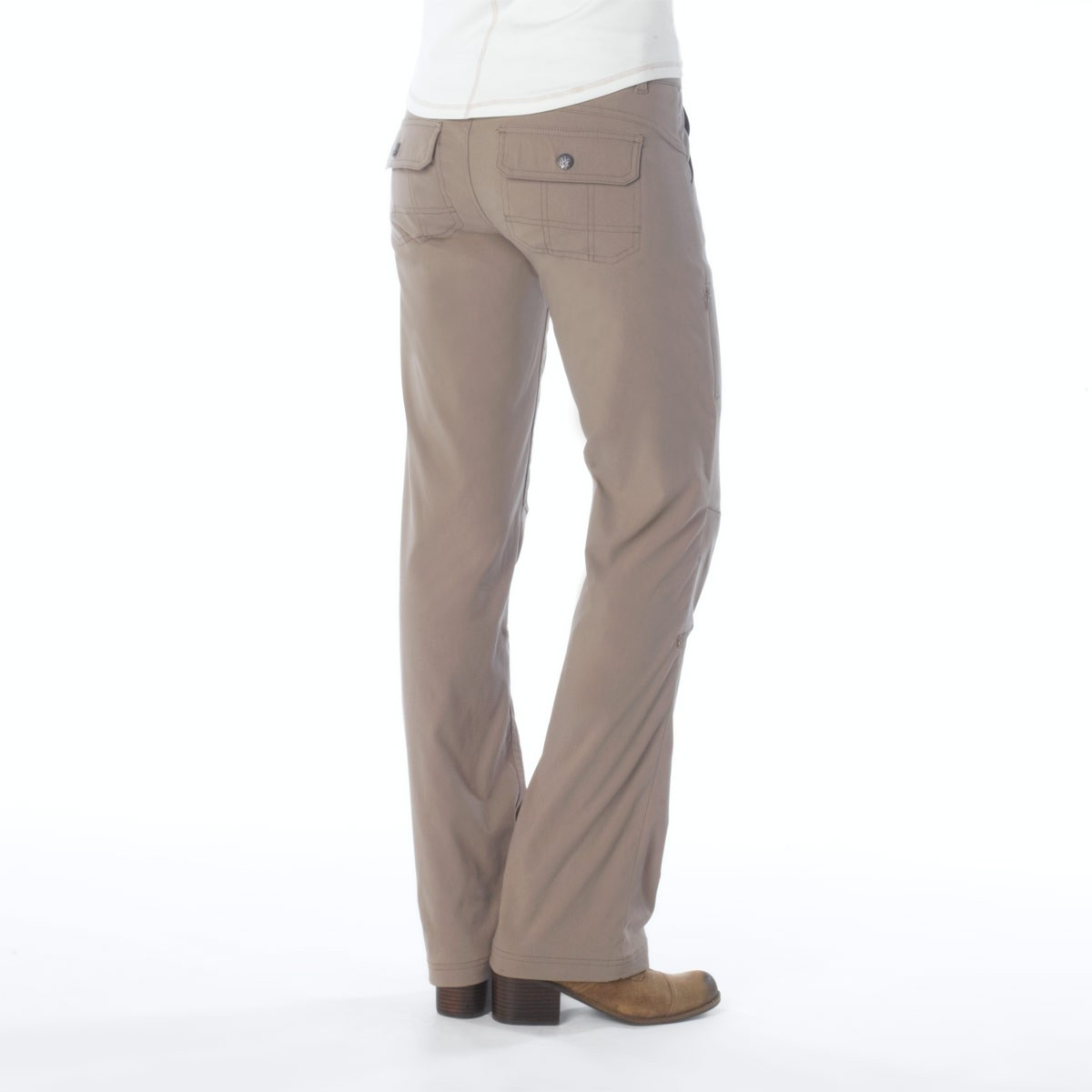 Perfect Dockers K1 Womens Size 6P Dark Brown Khaki Pants In Very, Very Good Condition Have Just Been Hanging In My Closet Since I Gained Weight Dog Friendly Home I Also Have Two Other Pairs Of Dockers In Similar Size For Sale