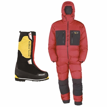 Everest Millet Boots & Expedition Down Suit Combination- Special Price