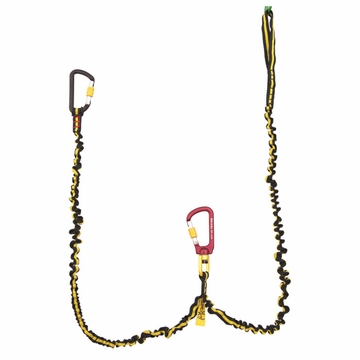 Grivel Double Spring Leash w/ Rotor