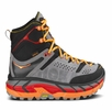 Hoka One One Mens Tor Ultra Hi Waterproof Black/ Flame (close out)