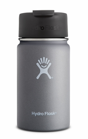 Hydro Flask 12oz Wide Mouth w/ Flip Lid Graphite