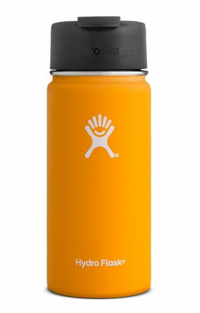 Hydro Flask 16oz Wide Mouth w/ Flip Lid Mango