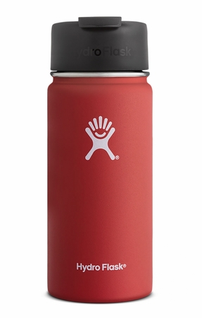 Hydro Flask 16oz Wide Mouth w/ Flip Lid Lava