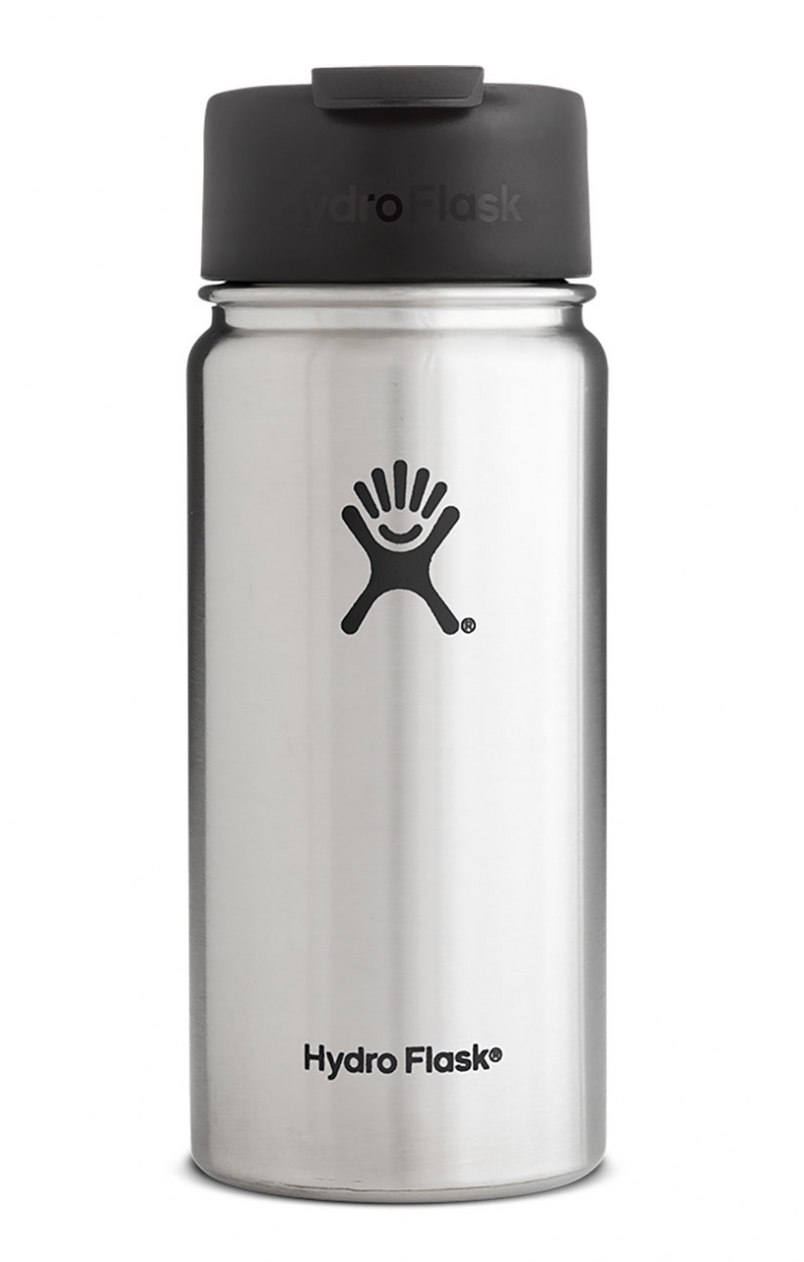 8830d80be42 Hydro Flask 16oz Wide Mouth w/ Flip Lid Stainless