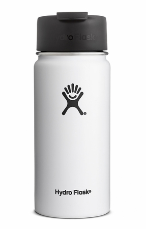 Hydro Flask 16oz Wide Mouth w/ Flip Lid White