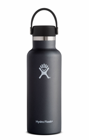 Hydro Flask 18oz Standard Mouth w/ Standard Flex Cap Black