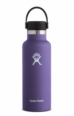 Hydro Flask 18oz Standard Mouth w/ Standard Flex Cap Plum