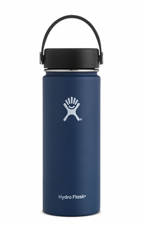 Hydro Flask 18oz Wide Mouth w/ Flex Cap Cobalt