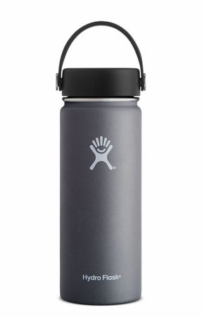 Hydro Flask 18oz Wide Mouth w/ Flex Cap Graphite
