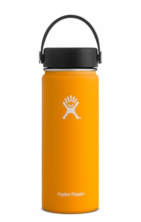 Hydro Flask 18oz Wide Mouth w/ Flex Cap Mango