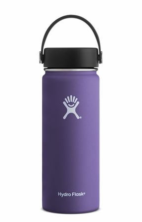 Hydro Flask 18oz Wide Mouth w/ Flex Cap Plum