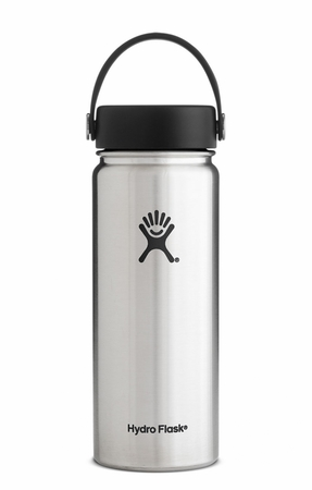 Hydro Flask 18oz Wide Mouth w/ Flex Cap Stainless