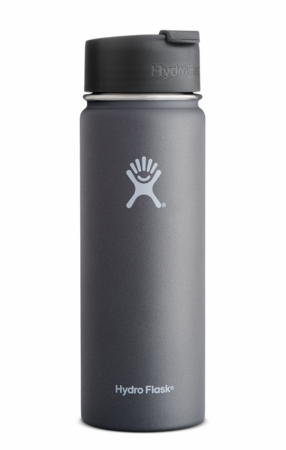 Hydro Flask 20oz Wide Mouth w/ Flip Cap Graphite