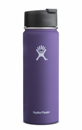 Hydro Flask 20oz Wide Mouth Plum w/ Flip Cap
