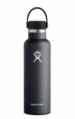 Hydro Flask 21oz Standard Mouth w/ Standard Flex Cap Black