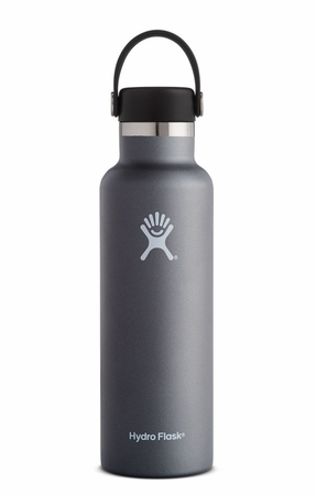 Hydro Flask 21oz Standard Mouth w/ Standard Flex Cap Graphite