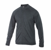 Ibex Mens Latitude Full Zip Ebony Heather
