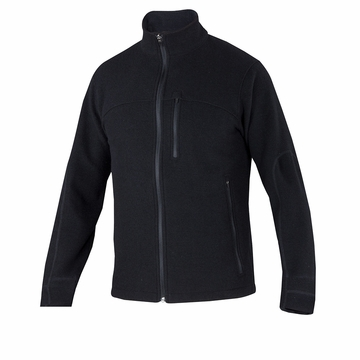 Ibex Mens Scout Jura Full Zip Black