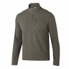 Ibex Mens Scout Jura Half Zip Acorn Heather