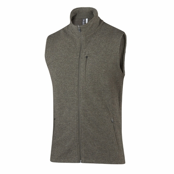 Ibex Mens Scout Jura Vest Acorn Heather