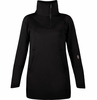 Indygena Womens Bero Dress/ Tunic True Black
