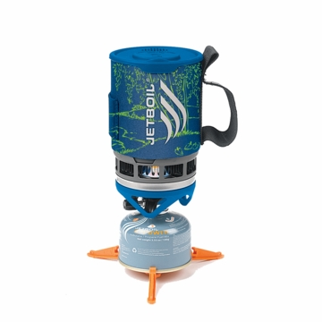 Jetboil Zip Cooking System Blue Stream Art