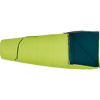 Kelty Rambler 50 Degree Regular Right Hand Sleeping Bag Green
