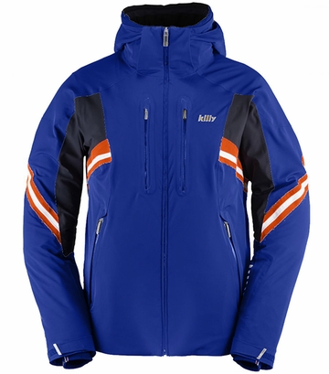 Killy Mens Curve Jacket Royal Blue