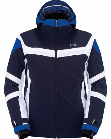 Killy Mens Triple Jacket Deep Night/ Royal Blue/ White