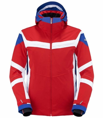 Killy Mens Triple Jacket Killy Red/ Royal Blue/ White