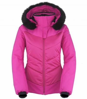 Killy Womens Lovely Fur Jacket Fuchsia (Close Out)