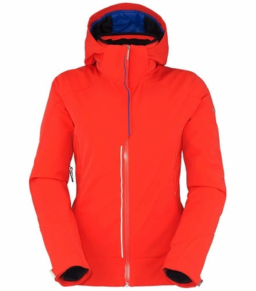 Killy Womens Secret II Jacket Mandarin Red