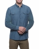 Kuhl Mens Airspeed Long Sleeve Pirate Blue