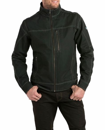 Kuhl Mens Burr Jacket Raven