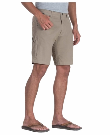 "Kuhl Mens Ramblr 10"" Short Nomad Khaki"