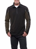 Kuhl Mens Revel 1/4 Zip Charcoal/ Olive