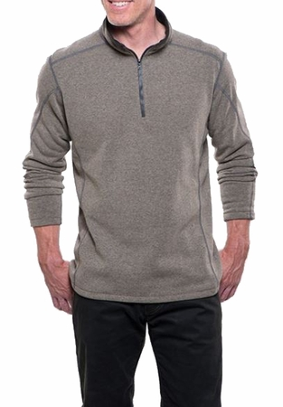 Kuhl Mens Revel 1/4 Zip Oatmeal