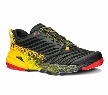 La Sportiva Akasha Black/ Yellow 46.5 (close out)